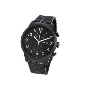 FOSSIL Townsman Chronograph Black Dial Watch